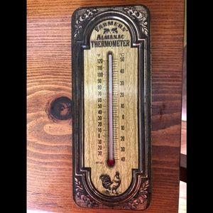 Vintage AVON Farmers Almanac Thermometer!